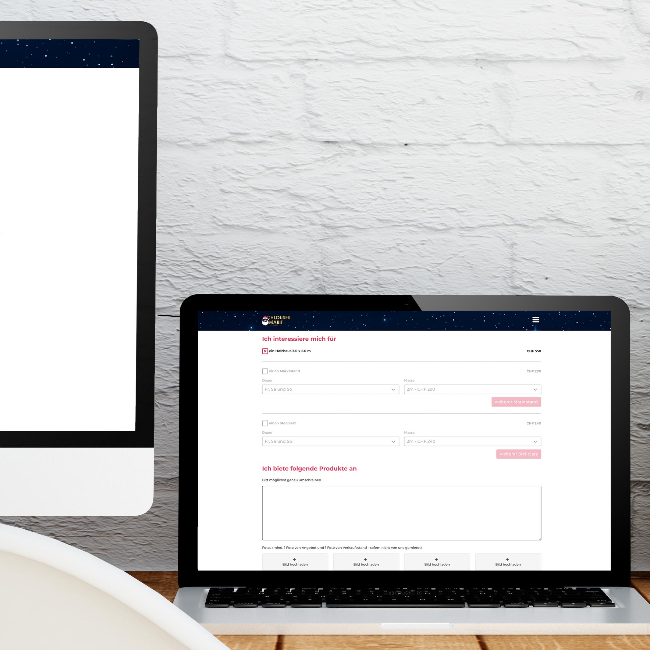 Chlouser-Märit Aarberg Webdesign